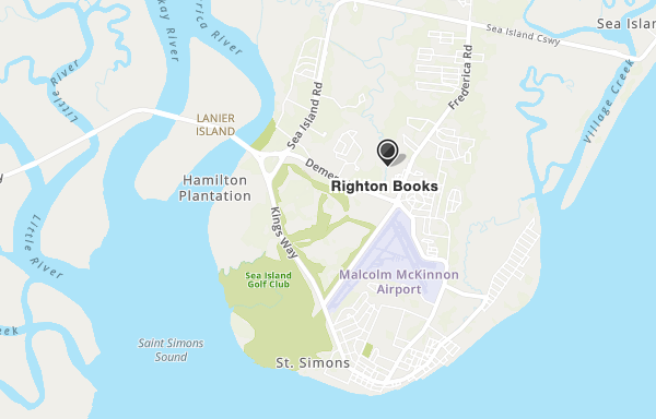Righton Books Map